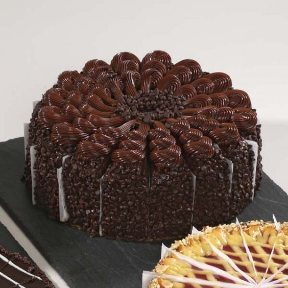 Empire State Triple Chocolate Cake