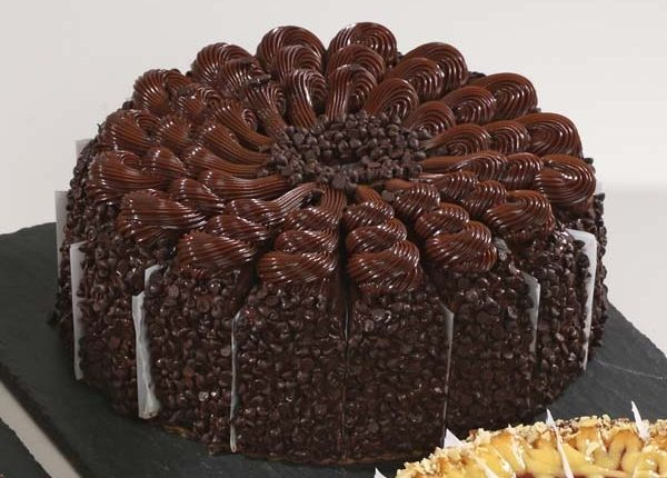 Empire State Triple Chocolate Cake