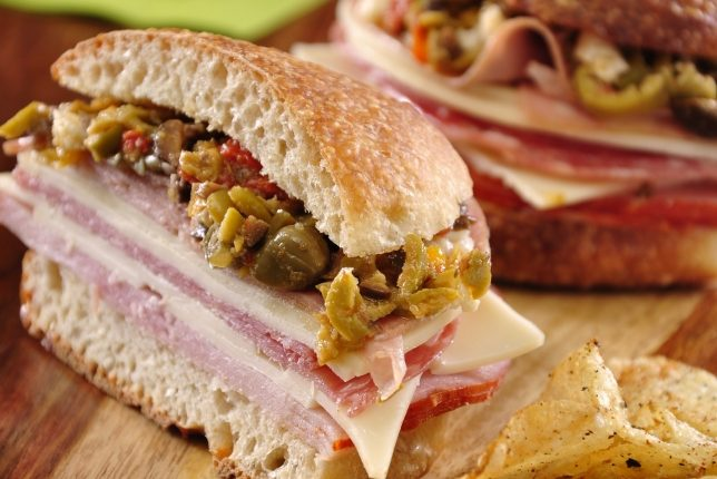 Traditional Muffuletta