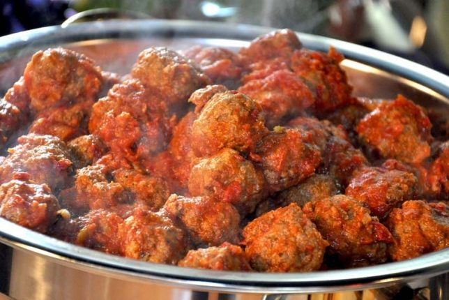 Bite-Sized Italian Meatballs