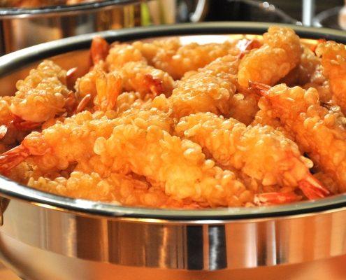 Wrapped Prawns (shrimp)