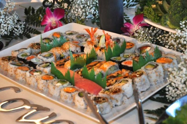 Assorted California and Vegetable Roll Platter