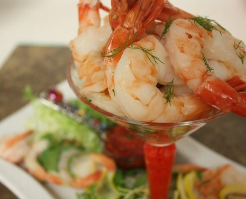 Chilled Shrimp Cocktail