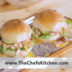 Pulled Chicken and Pimento Cheese Sliders